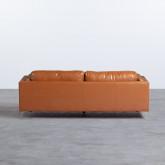 Sofá de 3 Plazas en Polipiel Andhy, imagen miniatura 4
