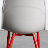 Silla de Comedor en Polipropileno y Metal Jed Classic, imagen miniatura 4