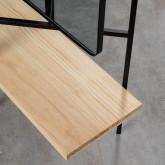 Perchero de Pie con Espejo en Metal y Madera (180x130 cm) Lumiel, imagen miniatura 6