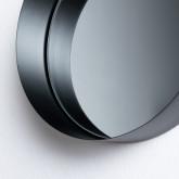 Espejo de Pared Redondo Metal (Ø20 cm) Aneu, imagen miniatura 4
