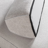 Sofá Chaise Longue Derecha 4 Plazas en Tela Vogle, imagen miniatura 6