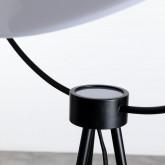 Lámpara de Pie en Cristal y Acero Munly, imagen miniatura 6