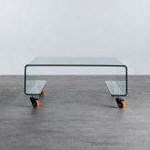 Mesa de Centro Cuadrada en Cristal (100x100 cm) Rolcris, imagen miniatura 4