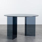 Mesa de Comedor Redonda en Cristal (Ø120 cm) Grup, imagen miniatura 743452