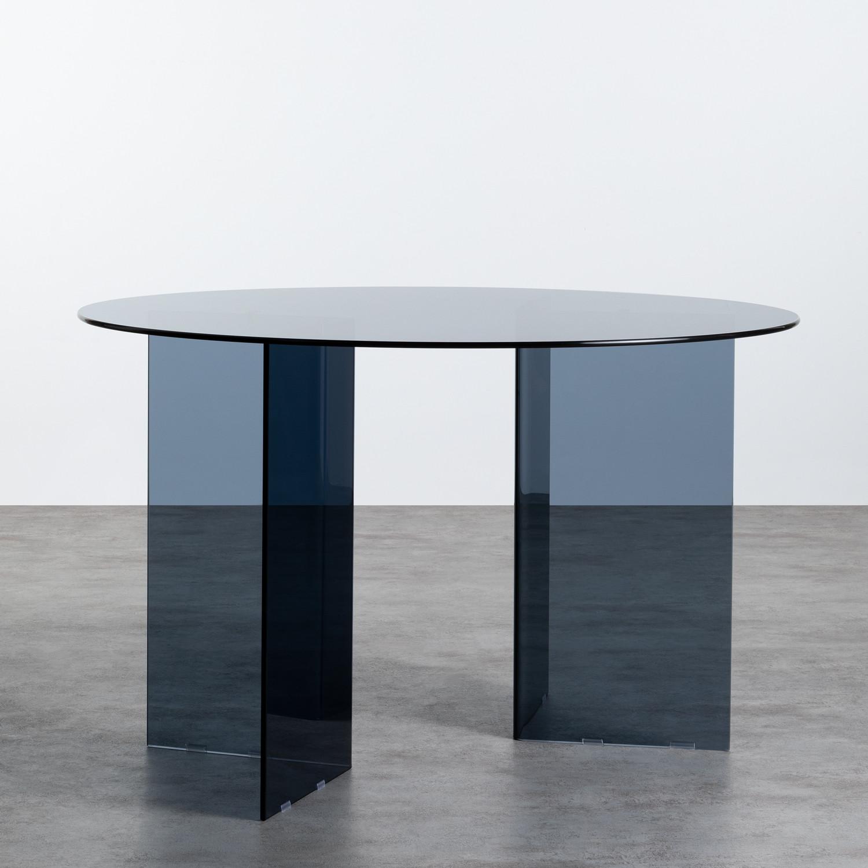 Mesa de Comedor Redonda en Cristal (Ø120 cm) Grup, imagen de galería 743452