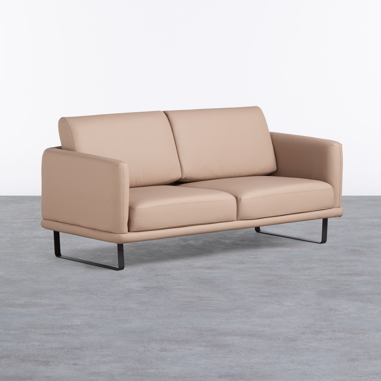 Sofá de 2 Plazas en Polipiel Descui, imagen de galería 1
