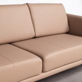 Sofá de 3 Plazas en Polipiel Descui, imagen miniatura 4