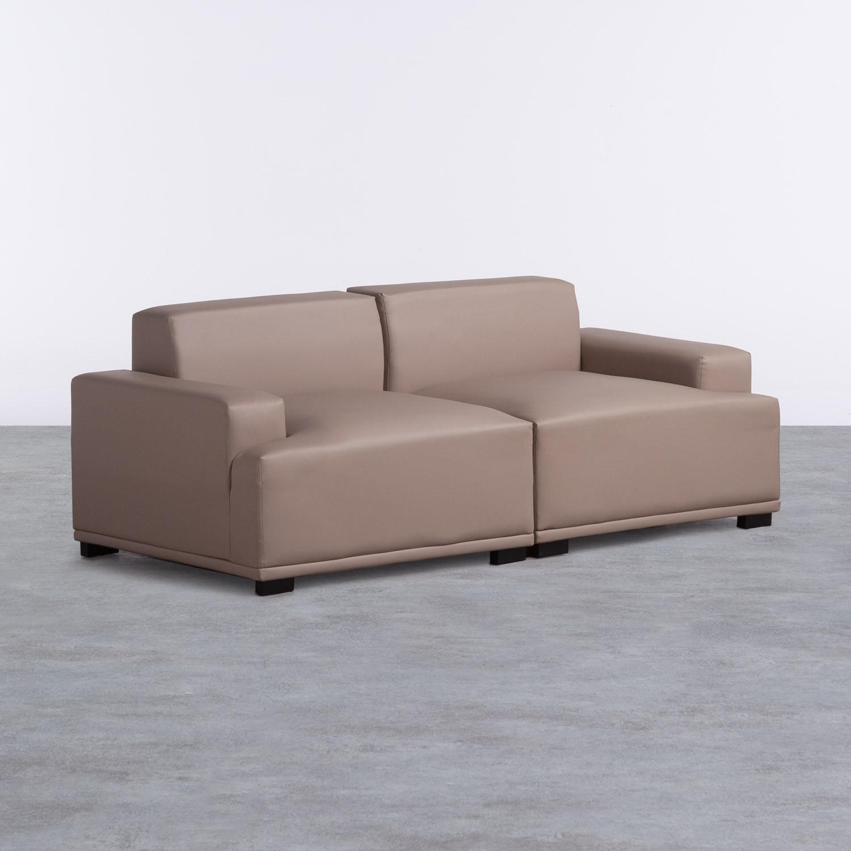 Sofá de 3 Plazas en Polipiel Epiama, imagen de galería 1