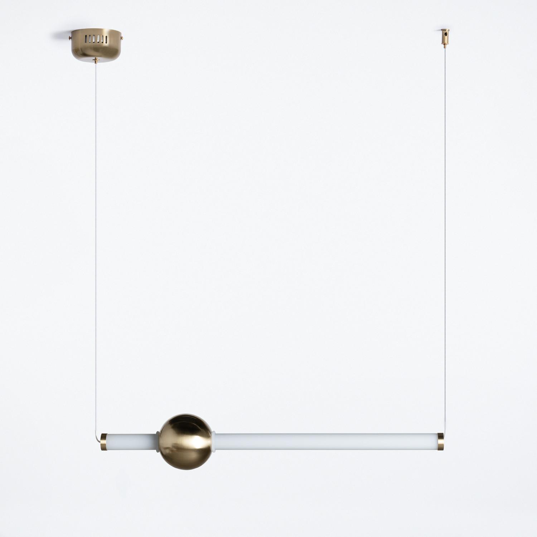 Lámpara de Techo en Acero y Cristal Baresqui, imagen de galería 1