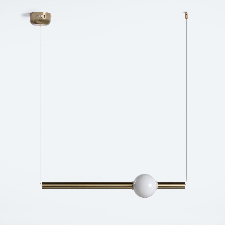 Lámpara de Techo en Acero y Cristal Bolesqui, imagen de galería 1
