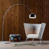 Lámpara de Pie en Acero y Mármol Gancio, imagen miniatura 2