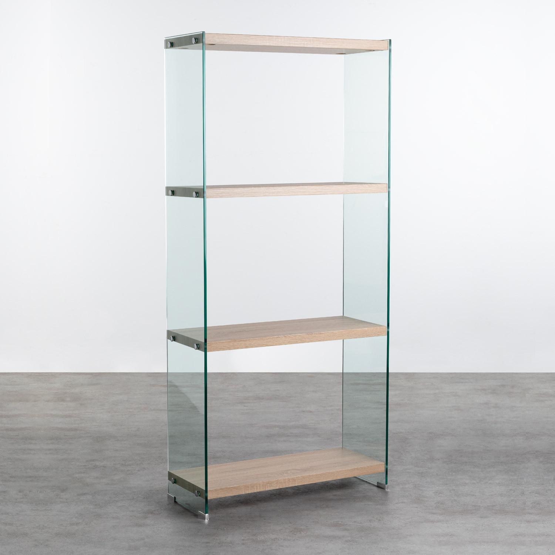 Estantería en Cristal y MDF (165,5 cm) Nilenia, imagen de galería 1