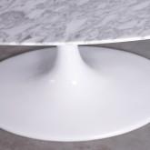 Mesa de Comedor Ovalada en Mármol y Fibra de Vidrio (199x120 cm) Freya , imagen miniatura 5