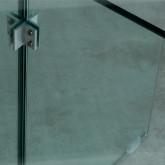 Mesa de Comedor Redonda en Cristal Templado (Ø137 cm) Vidre Round, imagen miniatura 6