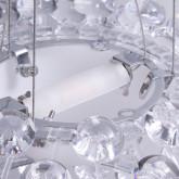 Lámpara de Techo en Policarbonato y Acero Shine 35, imagen miniatura 4