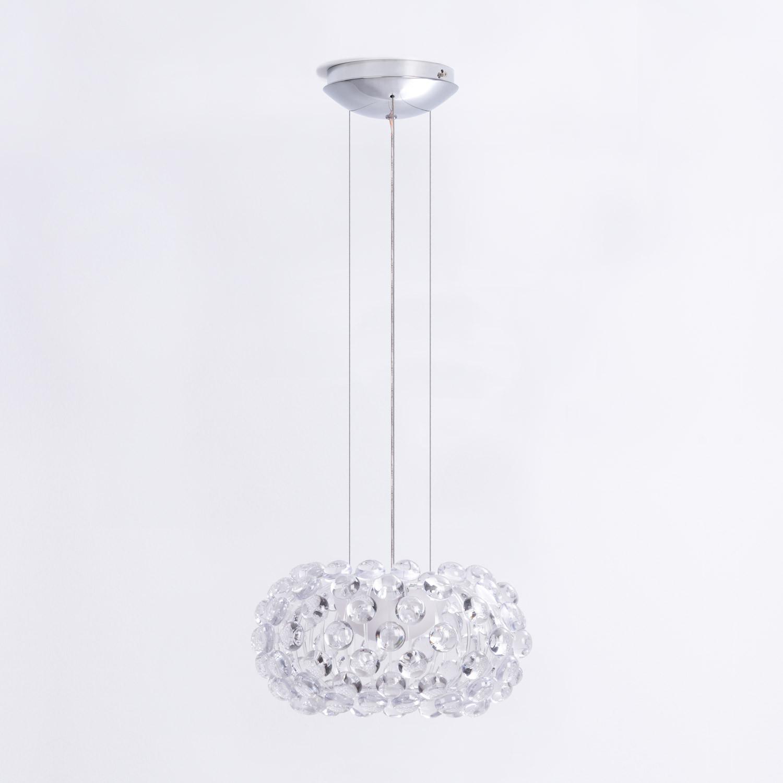 Lámpara de Techo en Policarbonato y Acero Shine 35, imagen de galería 1