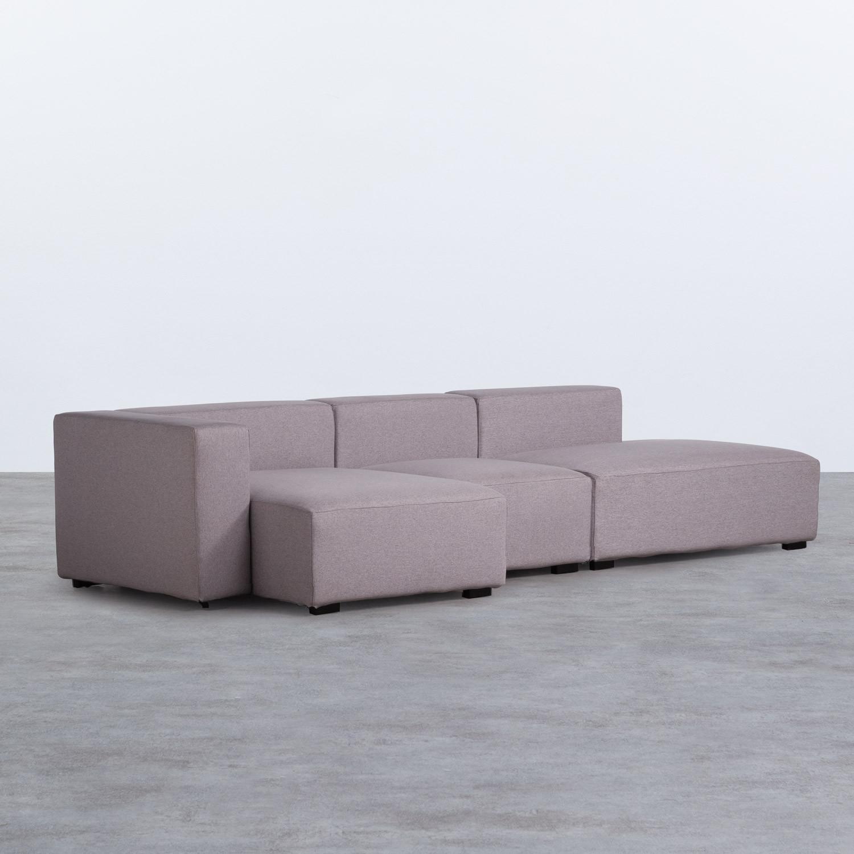 Sofá Chaise Longue Izquierda 4 Plazas en Tela Belka, imagen de galería 1