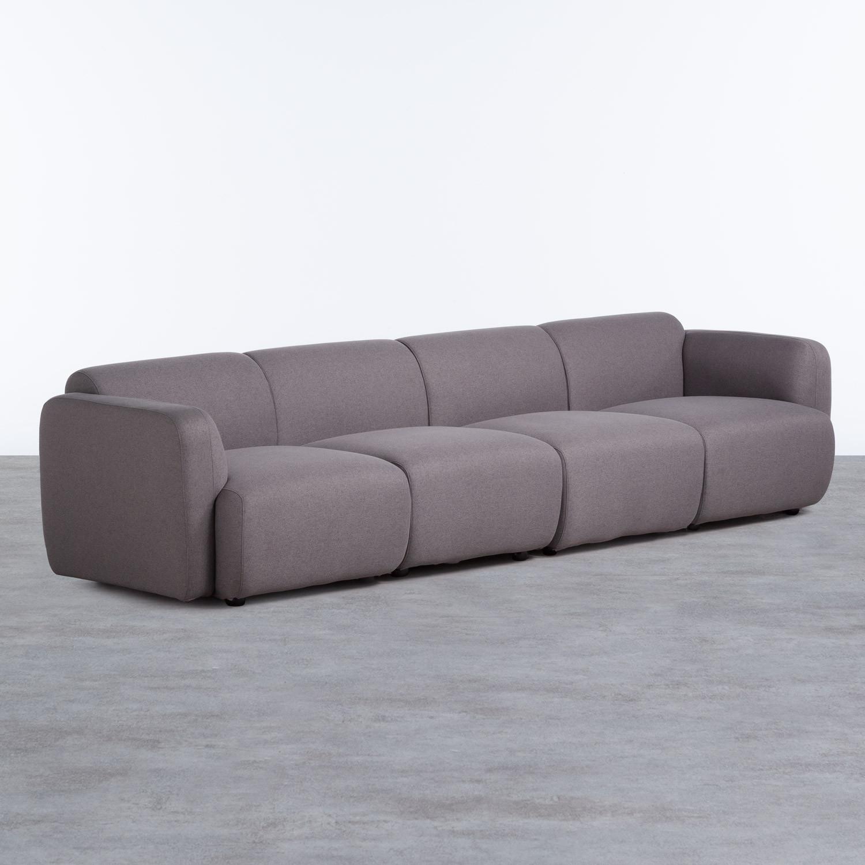 Sofá de 4 Plazas en Tela Brome, imagen de galería 1