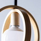 Lámpara de Techo en Madera Gemma, imagen miniatura 6