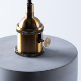 Lámpara de Techo en Cemento Axel, imagen miniatura 5