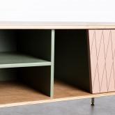 Mueble de TV en MDF dos puertas Amer, imagen miniatura 7