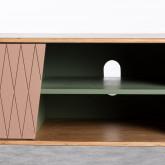 Mueble de TV en MDF dos puertas Amer, imagen miniatura 9