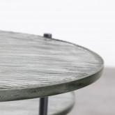 Mesa Auxiliar Redonda en Cristal (Ø39 cm) Karen, imagen miniatura 5