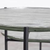 Mesa Auxiliar Redonda en Cristal (Ø39 cm) Karen, imagen miniatura 6