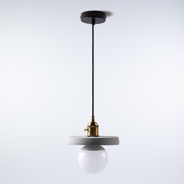 Lámpara de Techo en Cemento Lexa, imagen de galería 1