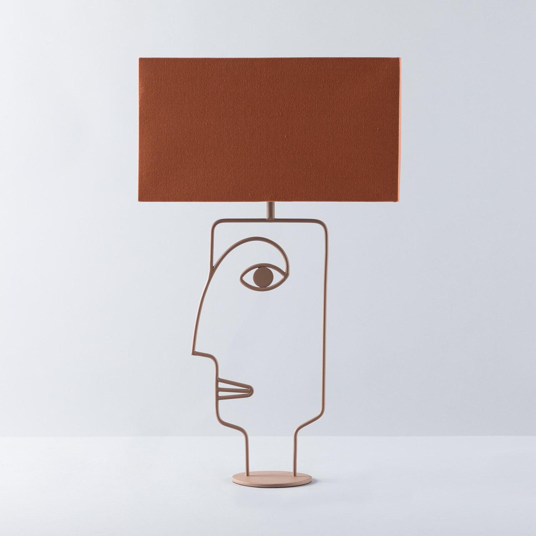 Lámpara de Mesa en Metal Zigor, imagen de galería 1