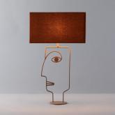 Lámpara de Mesa en Metal Zigor, imagen miniatura 2