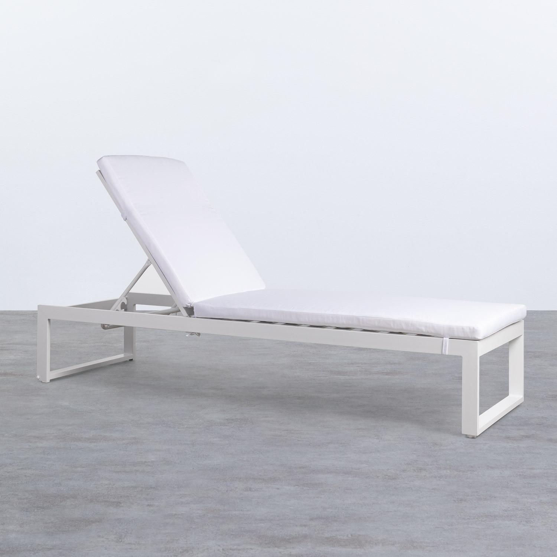Tumbona Reclinable de Tela y Aluminio Kabir, imagen de galería 1