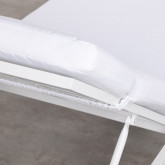 Tumbona Reclinable de Tela y Aluminio Kabir, imagen miniatura 9