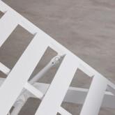 Tumbona Reclinable de Tela y Aluminio Kabir, imagen miniatura 11