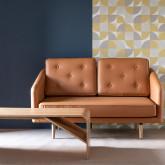 Sofá de 2 Plazas en Tela o Polipiel Tuk, imagen miniatura 2