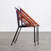 Chaise d'Extérieur en Rotin et Acier Neo, image miniature 6