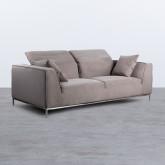 Canapé de 3 places en Nobuck Rochi, image miniature 4