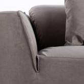 Canapé de 3 places en Nobuck Rochi, image miniature 5