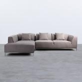 Canapé d'angle à Gauche 4 places en  Nobuck Rochi, image miniature 3