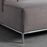 Canapé d'angle à Gauche 4 places en  Nobuck Rochi, image miniature 8
