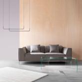 Canapé de 3 places en Nobuck Rochi, image miniature 2