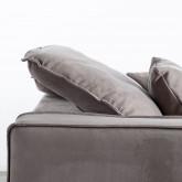 Canapé d'angle à Droite et Canapé 3 places en Tissu Rochi, image miniature 7
