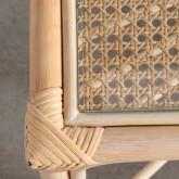 Table Basse Rectangulaire en Rotin Naturel (110x60 cm) Klaipe, image miniature 7