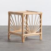 Table d'Appoint Carrée en Rotin Naturel (40x40 cm) Klaipe, image miniature 1