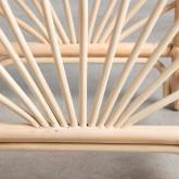 Table d'Appoint Carrée en Rotin Naturel (40x40 cm) Klaipe, image miniature 5