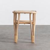 Table d'Appoint Carrée en Rotin Naturel (40x40 cm) Kida, image miniature 3