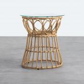 Table d'Appoint Ronde en Rotin Synthétique (Ø52 cm) Noli, image miniature 1