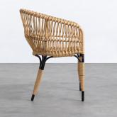 Chaise de Salle à manger en Rotin Synthétique Nila , image miniature 3