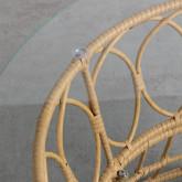 Table Basse Ronde en Rotin Synthétique (Ø76 cm) Noli, image miniature 5