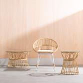 Chaise de Salle à manger en Rotin Synthétique Drie , image miniature 2